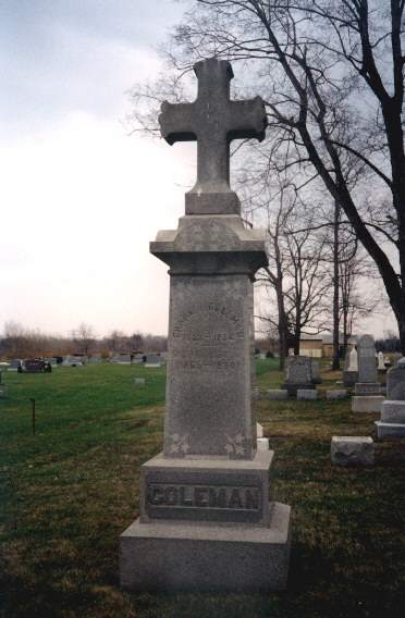 Coleman Monument-St. Mary's Cemetery.jpg (74677 bytes)